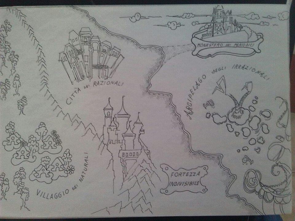 mappa del viaggio iniziatico