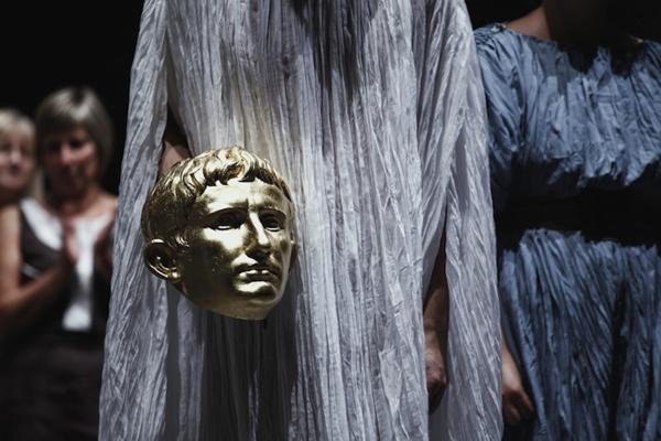 """Virgilio brucia"" -- Piccolo Teatro Studio"