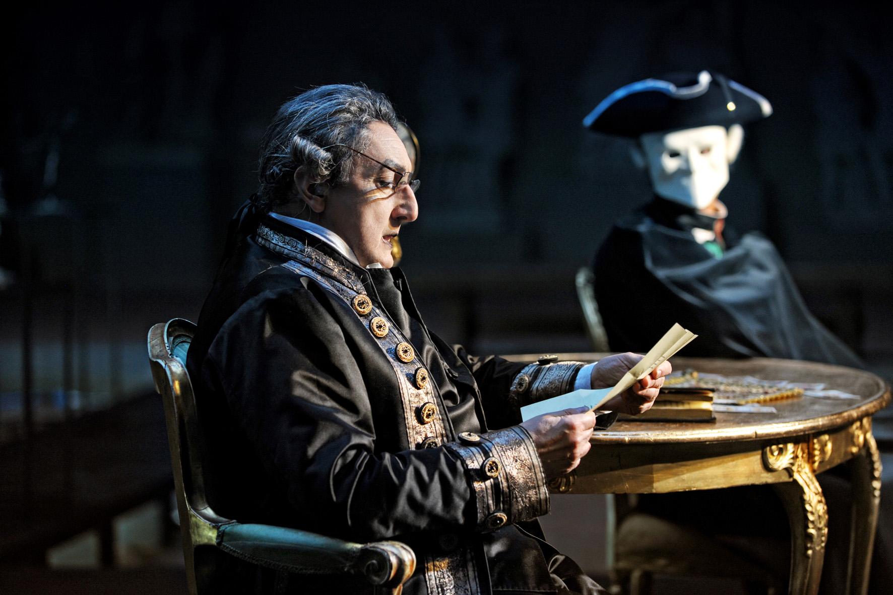"""""""Il ritorno di Casanova"""" -- Piccolo Teatro Studio"""