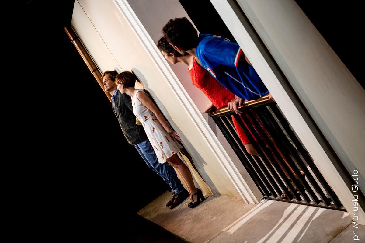 """""""Fuori gioco"""" -- Teatro Franco Parenti"""