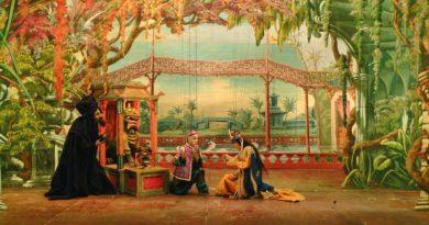 Il marionettista (si) diverte! Aladino e l'omaggio a Eugenio Monti Colla